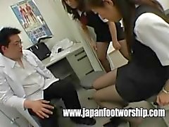 Foot fetish two girls nylons feet