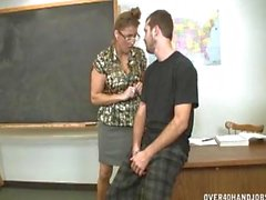 Handjob Domination In The Classroom