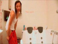 Mary Young Alexandra Kroha bathroom play