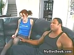 Jesmi Lynn took one look at that monster cock and