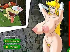 Hentai Sexspiel gibt es princess Peach ist eine prisioner (Nintendo )