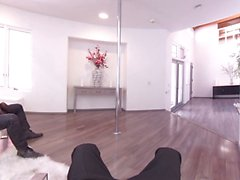 Виртуальная реальность POV киской аппликатура полюса танцор