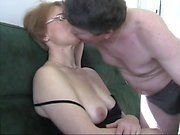 German hot girlfriend prepared to be fucked hard