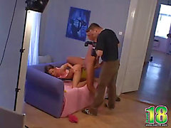 Staged sex porn clip backstage behind the scenes episode