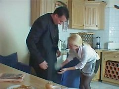 Cheating British Husband Fucks The Big Tits House Maid