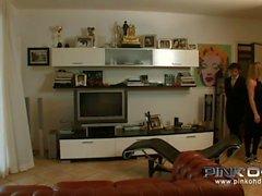 De PINKO HD Italian Anal Trio