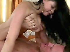 Sexy cowgirl homemade creampie