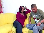 MILF Mother Seduce German Step-Son to Fuck her
