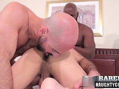 Latince eşcinsel üçlü ve cumshot