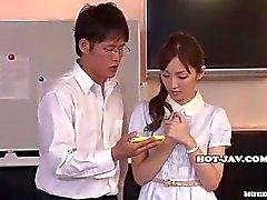 Japanese Girls masturbated with beautifull massage girl in kitchen.avi
