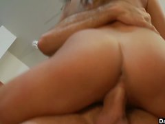 Cute Babe Fucked Hard In The Kitchen