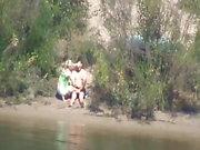 Follar en la playa