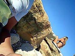 bir kadın bir plaj II