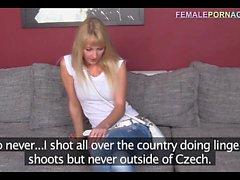 Polish blonde at porn cast