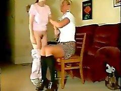Mom Smisk med platt slagträ Disciplinen daddi