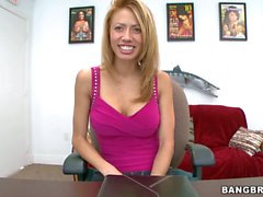 Casting video with Latina chick Jandi Jenner