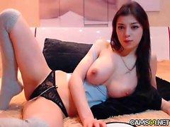Большая синица Стадия Дочь теребят об веб-камера - cams69