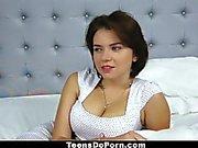 TeensDoPorn - Big Tittied Russian Marina Visconti Casting Tape!