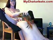 Amber Has Fun With Lesbian Friend 2