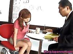 Super kiimainen Aasian tytöt masturboi