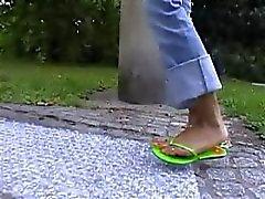 indian giantess wild pretty feet