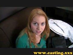 Casting - Beautiful nervous teen