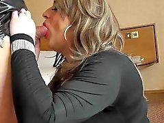Célesta avec putain Nicola