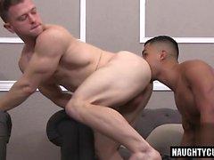 Латинская гей флип-флоп и Сперма