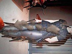 Sofie Shevardnadze läderbyxor sperma hyllning två