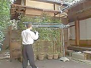 Blowjob in the Garden -by PACKMANS