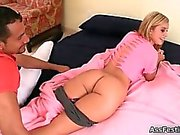 Big booty babe loves getting fucked hard part1