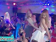 Schweizer Girls Party mit Stripper