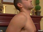 Красивый гей Дрю Катлера получит член сосала и трахает замуж парню Jeremy