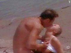 La donna seduttivo scopare la L'uomo sulla La Spiaggia