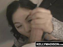 KELLY MADISON - Kendra Spade wird in den Arsch und ein Gesicht voller Sperma gefickt