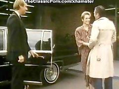 Michelle Davy , John Leslie , Jamie Gillis bei klassischer Sex Clip