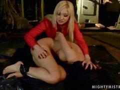 Mistress punishing beautiful Cindy Hope