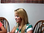 Young girls havingsex on poker night
