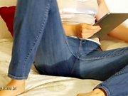 Jeans Fuktning underlag