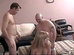 De aficionados del BI fiesta - 4 hombres & de 1 afortunada
