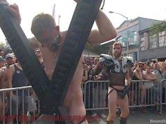 Street Fair Orgy Gets Dirty