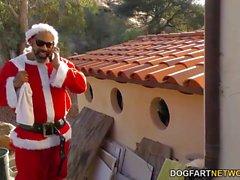 Bad Santa Shane Diesel fucks Tanner Mayes