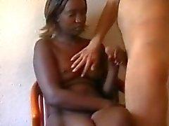 Amateur ebony tiener , verlegen zelfgemaakte sex