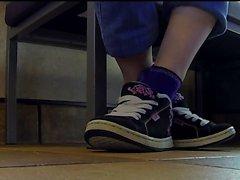 shoeplay al pubblico con Camper da ginnastica Dettaglio