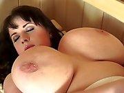 Pretty BBW Likes Sauna Sex