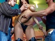 Carmella Bing Riding Cock In High Boots
