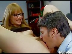 Secretary Pussy Fucked by Boss