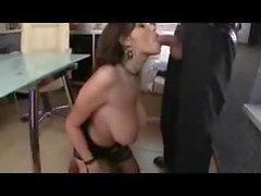 Great Cumshots on Big Tits 84