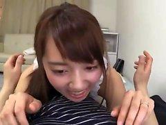 Ebony gal fingering her hairy pussy