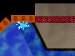O pau de Mario atinge sua velocidade de Defacto